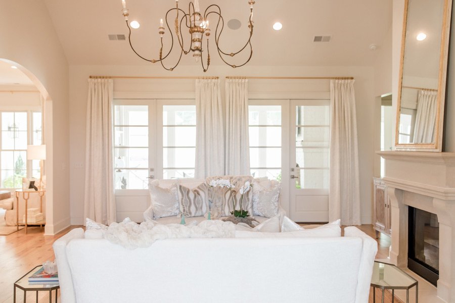 LauraBeth Rosson Interior's work on the Oxford Home.